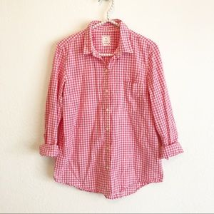 Gap Gingham Button Down
